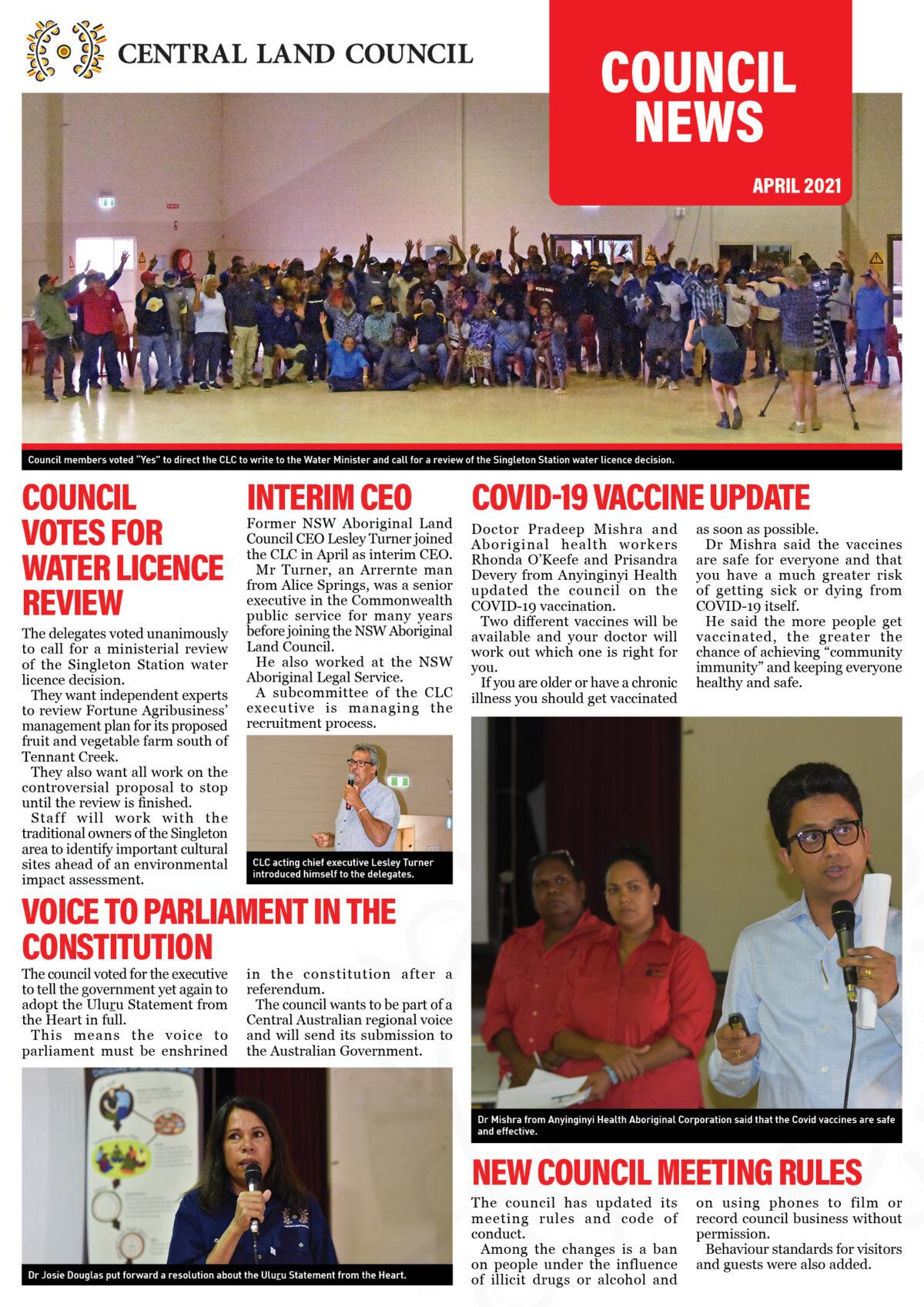 Council News April
